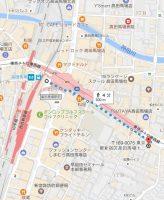 インフォレント高田馬場店 地図 アクセス 3