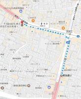 インフォレント高田馬場店 地図 アクセス 2