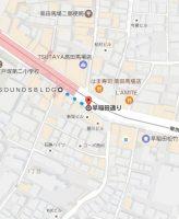 インフォレント高田馬場店 地図 アクセス 1