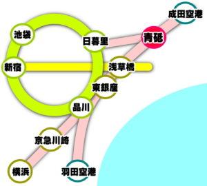 青砥駅アクセス
