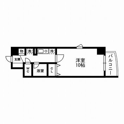 大塚駅 楽器可 賃貸マンション    梅田ビル第二   10帖 1K