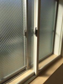 24時間演奏 防音 マンション 西側の開口部 こちらの窓も二重