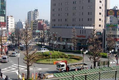 大塚駅 南口 駅ビル