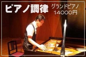 グランドピアノ調律アイリスピアノ グランドピアノ調律14000円