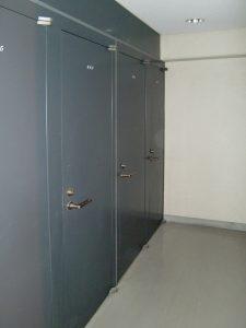 トランクルーム と 防音室 埼京線 モーツァルトパーク戸田公園 トランクルーのドア