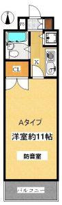 埼玉県埼京線 防音室 モーツァルトパーク戸田公園 Aタイプ