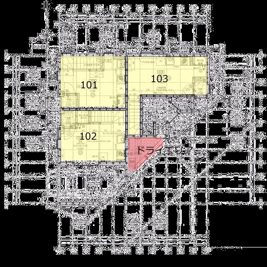 メリオール の平面図・1F図面