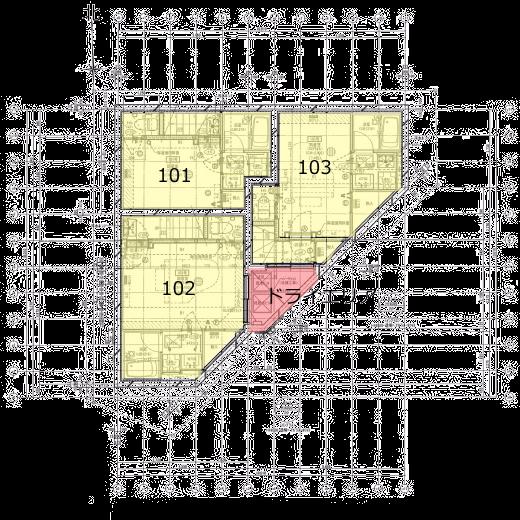 メリオール の平面図・B1F図面