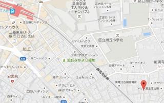 24時間演奏可の防音マンションOAKS江古田ラシクラスは駅から歩いて6分です。