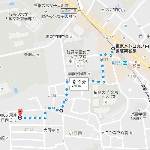 モデラートの地図
