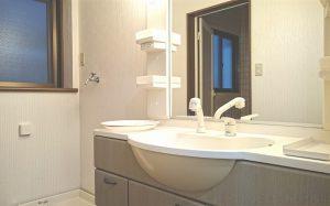 防音室付き賃貸マンション スタジオレジデンス杉並 独立洗面台もあります