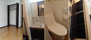 広々クローゼット、独立洗面台、温水洗浄便座付きトイレ、収納たっぷりシューズクローゼット
