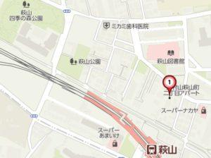 LM萩山地図