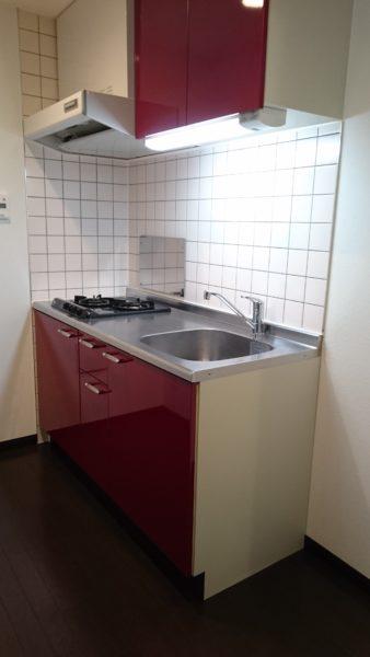 ヴェージュアッファービレ キッチン
