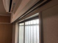 洋間2 カーテンレール 窓 エアコン