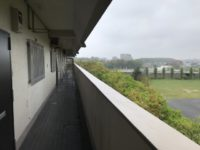 外廊下4階