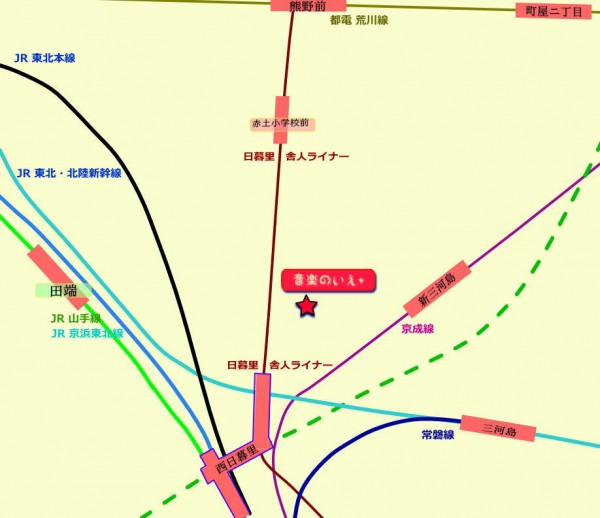 田端鉄道MAP