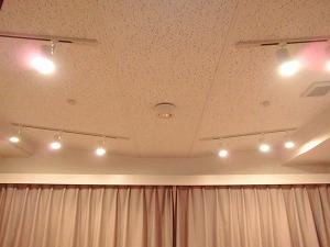 麻布防音スタジオ・スタジオ内 吊天井