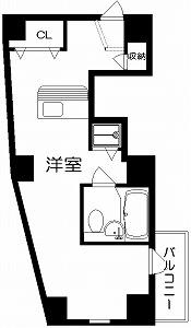 ベルソーネ目白・6号室の間取