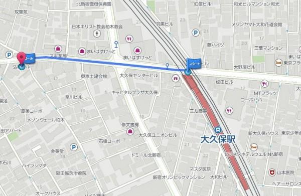 貸しスタジオ ダンス BMTスタジオ 地図
