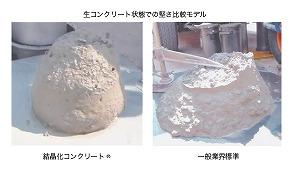 結晶化コンクリート