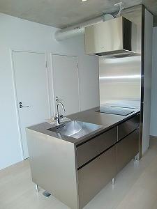 京成線 防音室 付き賃貸マンション 金線0043号室 の室内写真 キッチン システムキッチン
