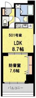 防音マンション 神楽坂haru 501