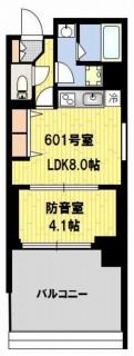 防音マンション 神楽坂haru 601