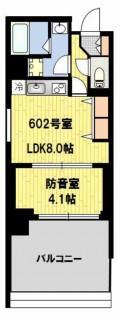 防音マンション 神楽坂haru 602