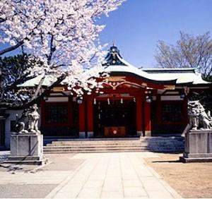 楽器演奏 可の広い部屋 東急 旗の台 神社