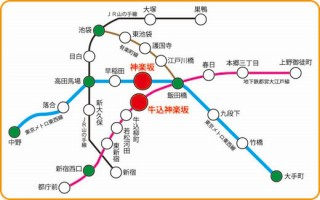 防音マンション 神楽坂haru 地図1