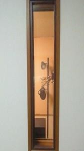 新 高円寺 の賃貸マンション ヴォーカルブース と コントロールルーム の窓