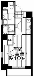 ミュージション江古田・間取図