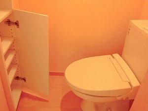 メゾンオルテ・トイレ内収納