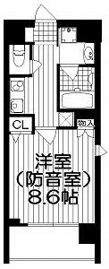 ミュージション下赤塚・間取図