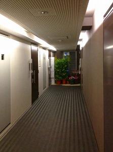 ミュージション下赤塚・廊下