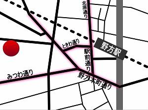 野方カンタービレ・周辺地図