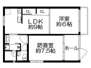 野方カンタービレ・間取図