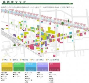 中板橋商店街MAP
