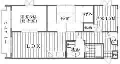 防音室のあるマンション 練馬大泉 3LDK