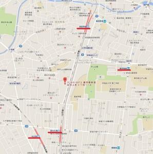 西戸山タワーホームズ 周辺地図
