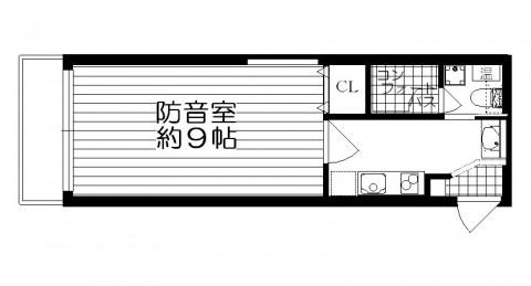 野方カンタービレ 間取図