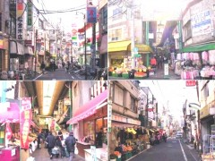 野方駅周辺商店街