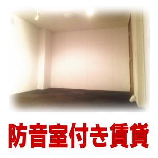 防音室付の賃貸物件のイメージ