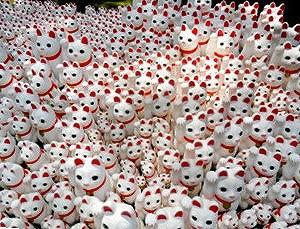 世田谷区 防音マンションの豪徳寺 招き猫