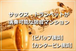 防音室付きの賃貸マンション  ビバップ横浜