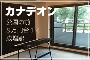 成増駅にある防音室付きの賃貸マンション