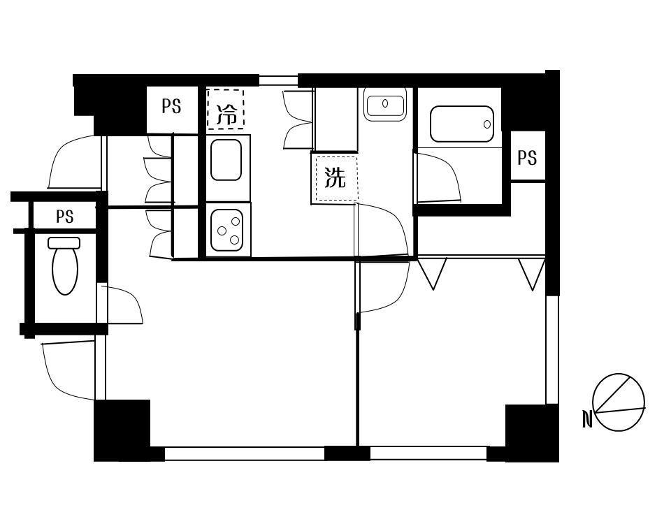 JR山手線 京浜東北線 銀座線の 上野 にある 東京芸大 上野学園 に近い   音楽マンション 間取図
