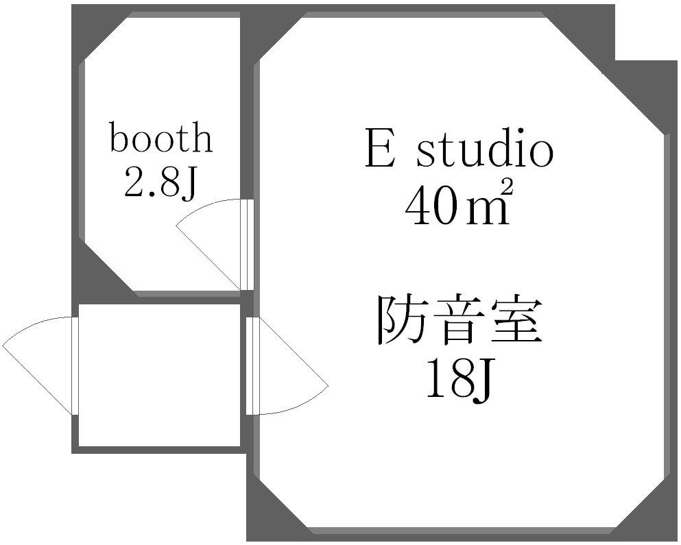 上野から徒歩9分 プライベートスタジオ