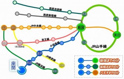 ザマムジークハウス 路線図